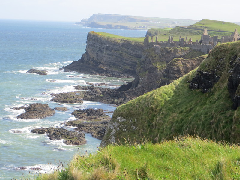 Dunluce castle, Ierland