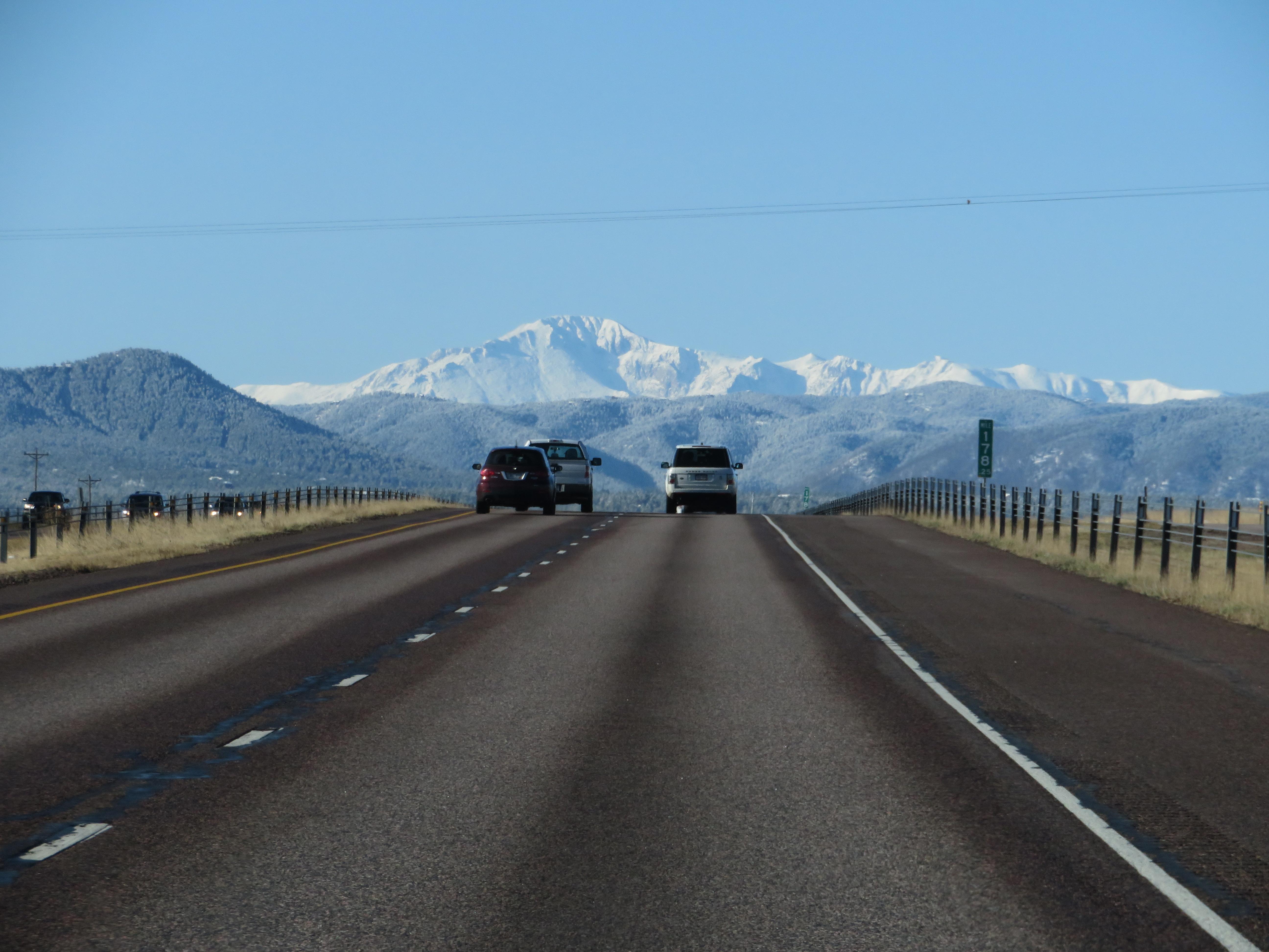 Onderweg naar New Mexico voor Global Entry aanvraag