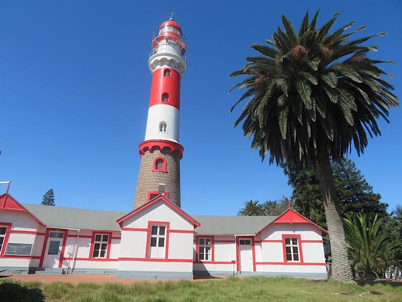 Lighthouse in Swakopmund