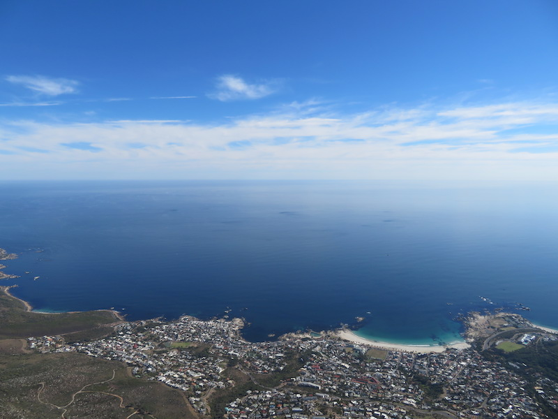 View of Cape Town from Tafelberg