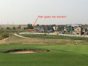 Uitzicht vanaf de golf course