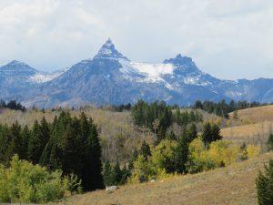 Sommige bergtoppen lijken net roomsoesjes