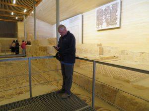 Museum bij mount Nebo in Jordanië