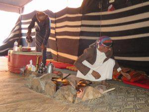In een Bedoeïenentent
