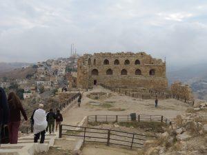 Kerak Castle in Jordanië