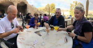 Drankje bij Petra