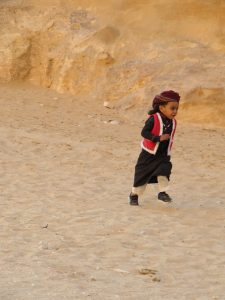 Kind in Petra