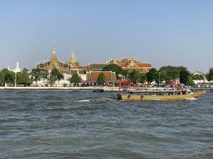 Chaopraya Rivier in Bangkok