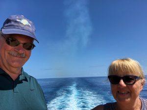 Gepke & Loek op een cruise