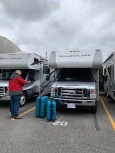 Onze Canadese camper