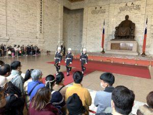 Changing of the guard Chiang Kai-shek