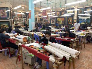 Gehandicapten in de fabriek