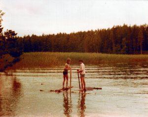 Theo en Boudewijn gaan vissen